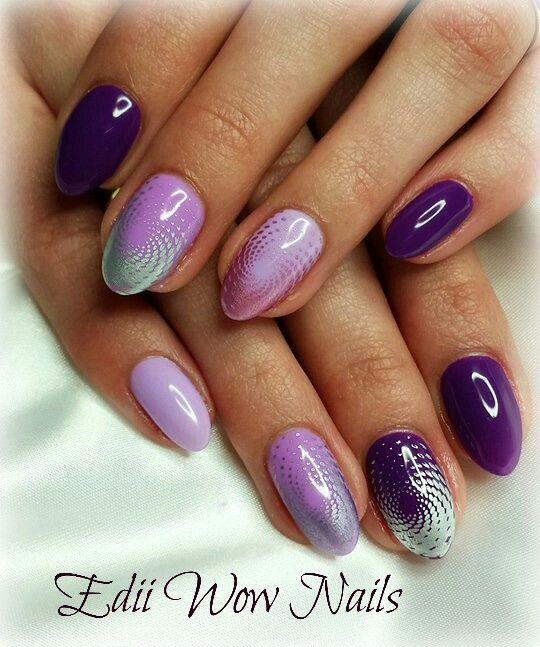 Moyou London stamps nails gel