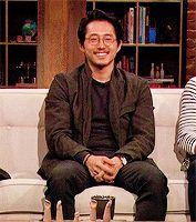"Steven Yeun on AMC Talking Dead after Season 5 ""Spend"""
