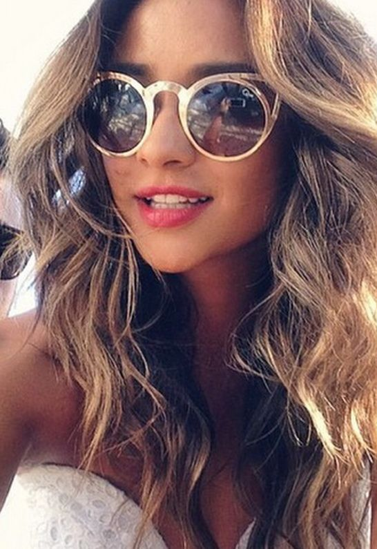 Shay Mitchell in our Quay Invader Sunnies