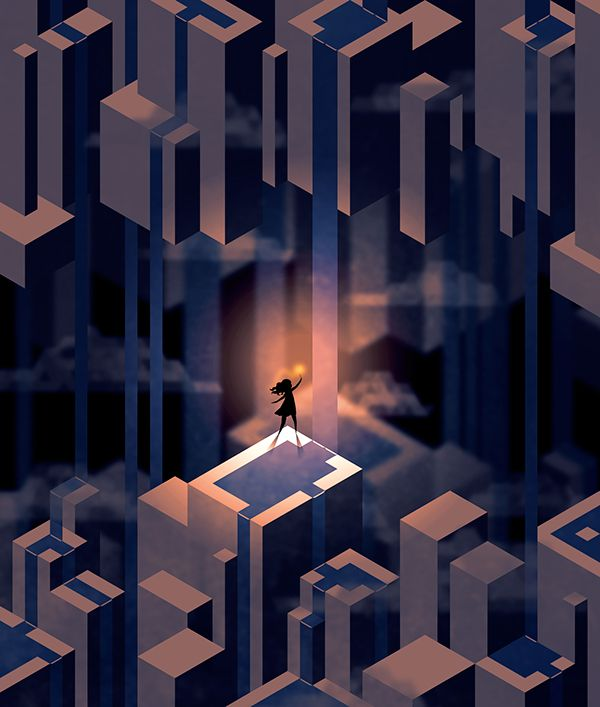 Hexels on Behance