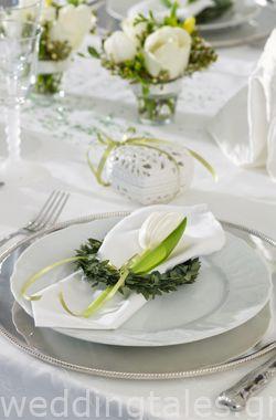 Διακόσμηση Γάμου: Υπέροχη γαμήλια διακόσμηση