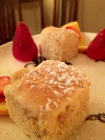 Perfectly prepared scones at the Tea Room in Savannah