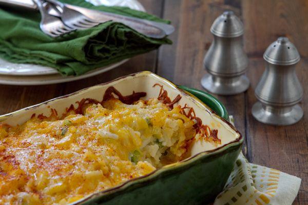 Easy Cheesy Potato Casserole - A Communal Table