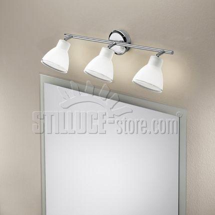 Oltre 25 fantastiche idee su soffitto bianco su pinterest vernici colorate colori in vernice - Lampade per il bagno allo specchio ...