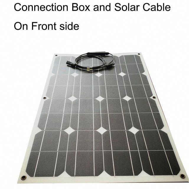 Flexible Solar Panel 80w Etfe Eva Film Photovoltaic Solar Panel Thermostable 1 Solarpanels Solare In 2020 Solar Energy Panels Solar Technology Best Solar Panels