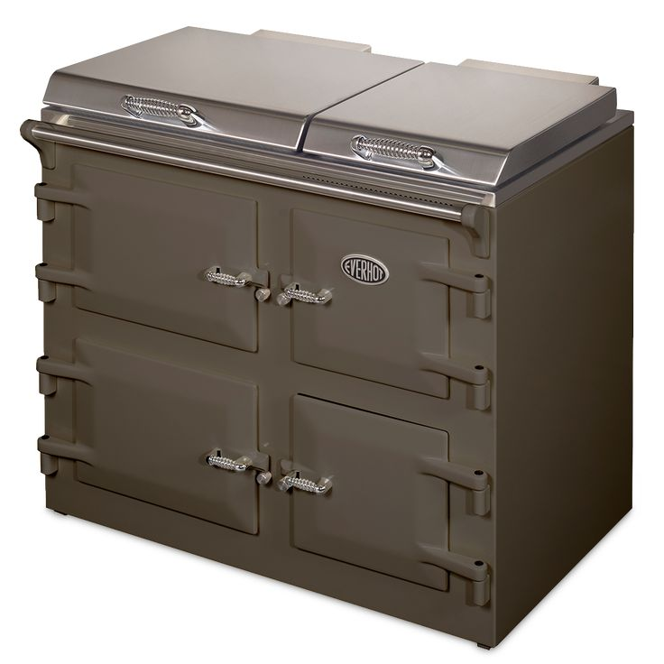 Everhot cookers, available in a wide range of gorgeous colours