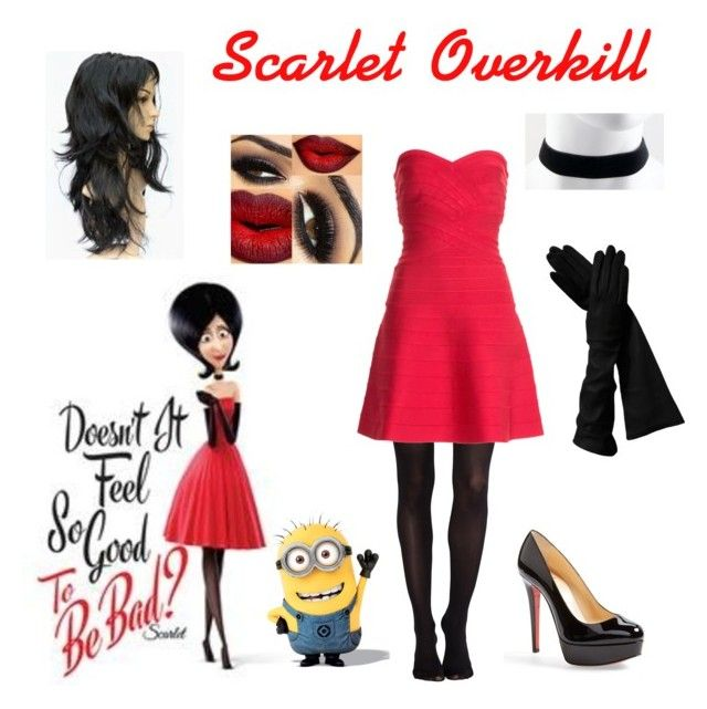 """""""Scarlet Overkill Costume"""" by hello-its-sally on Polyvore"""