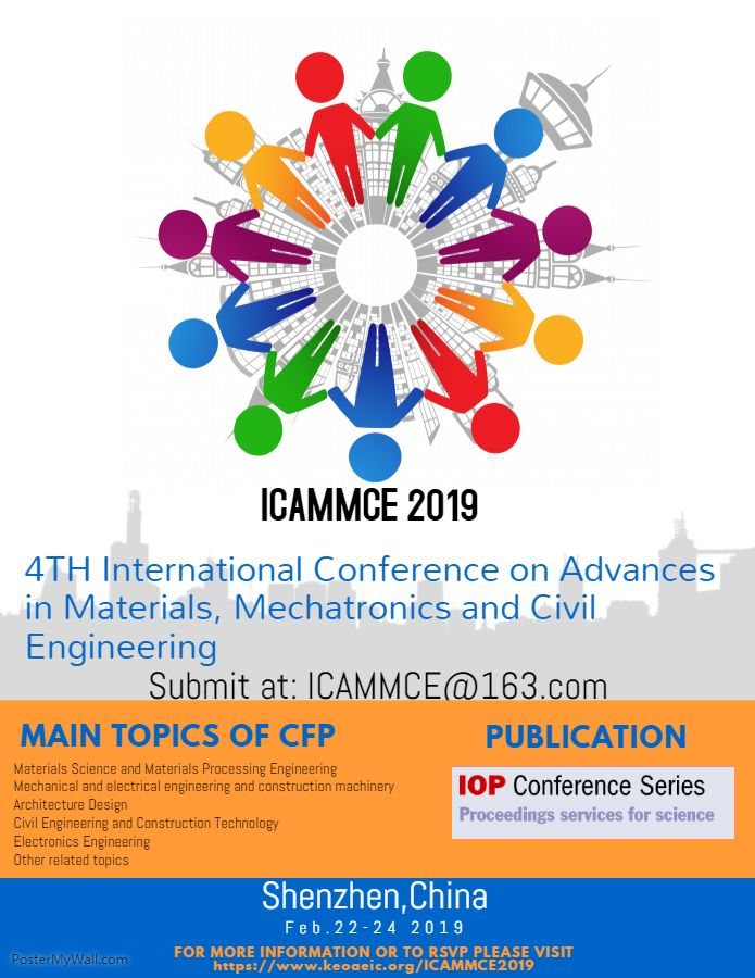 The 2019 4th International Conference On Advances In Materials