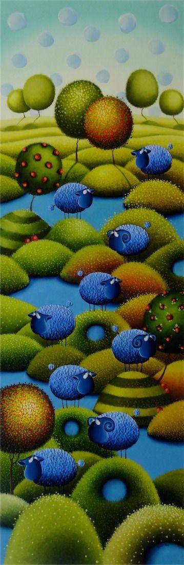 Gabriele Elgaafary. Art naif