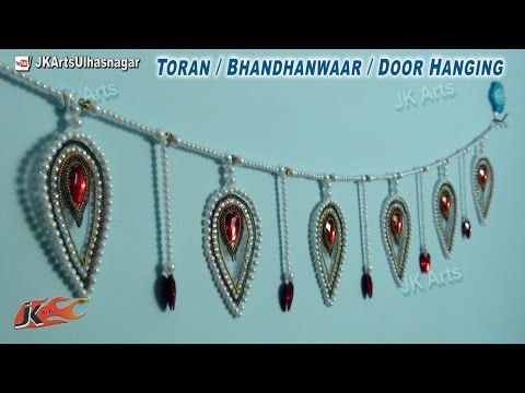 DIY OHP Toran / bandanwaars | How to make | JK Arts 682 - YouTube