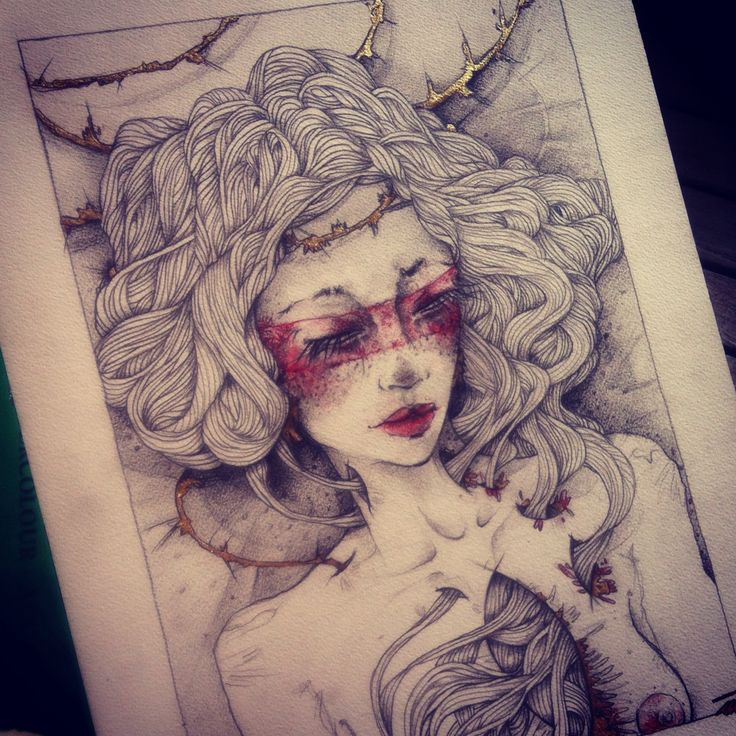 Drawing by Beatriz Mutelet / via www.allaboutrohmy.com
