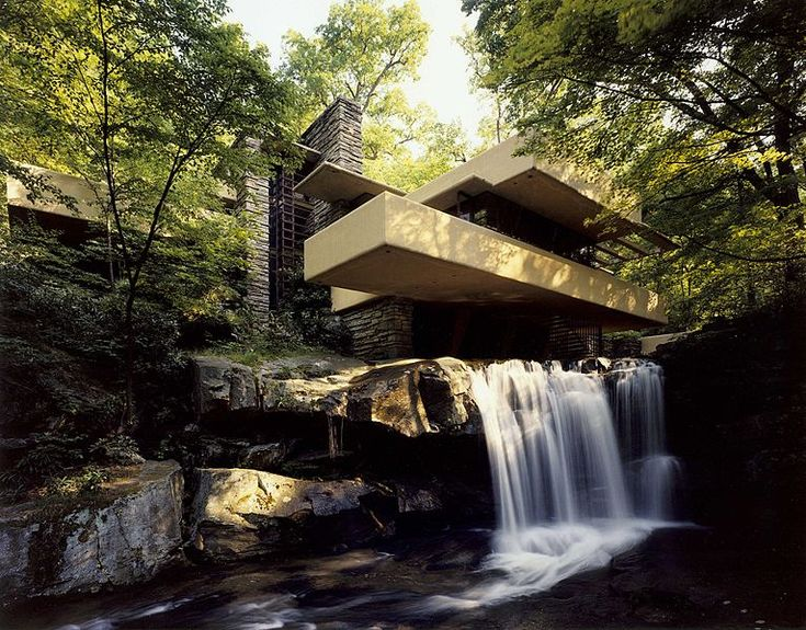 One of Frank Lloyd Wright's lasting impressions. Inspirational