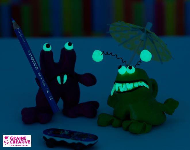 Petits monstres rigolos phosphorescent :D
