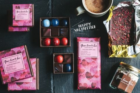 green  bean to bar chocolate(グリーン ビーン トゥ バー チョコレート)のバレンタイン