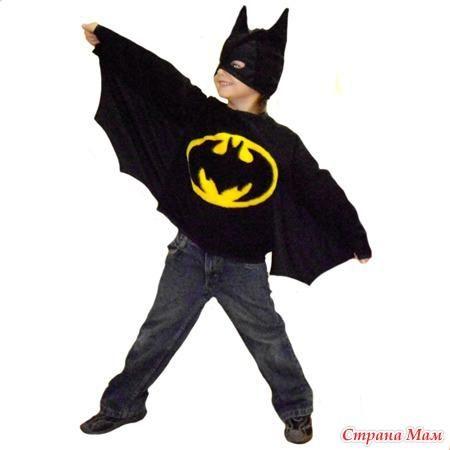 Карнавальные костюмы для детей бэтмен
