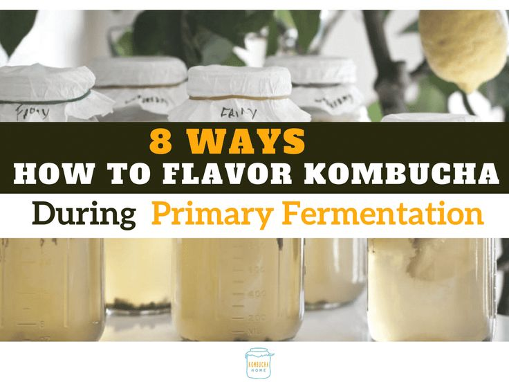 Unleash even more Kombucha flavor by flavoring your kombucha during the first ferment. We give you over 8 complete ways how to do it.