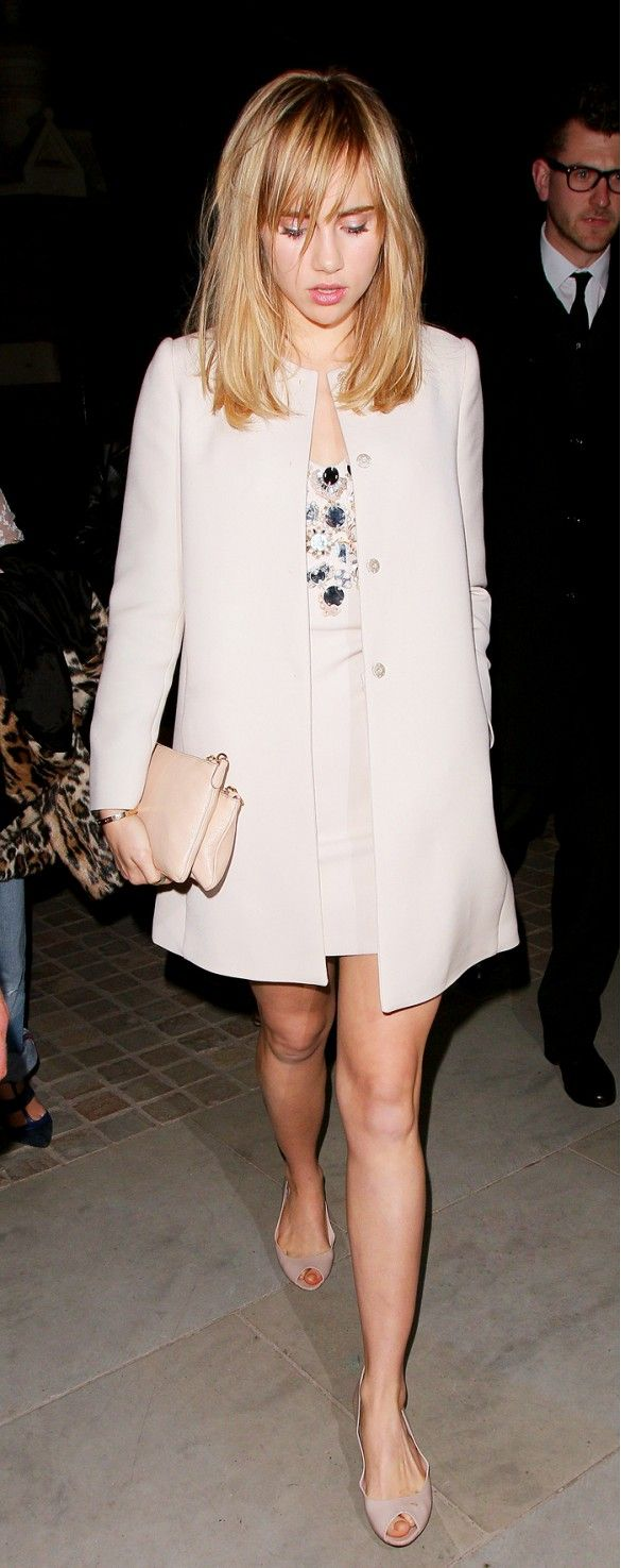 Suki Waterhouse. Your Complete Guide To Mod Style via @WhoWhatWear