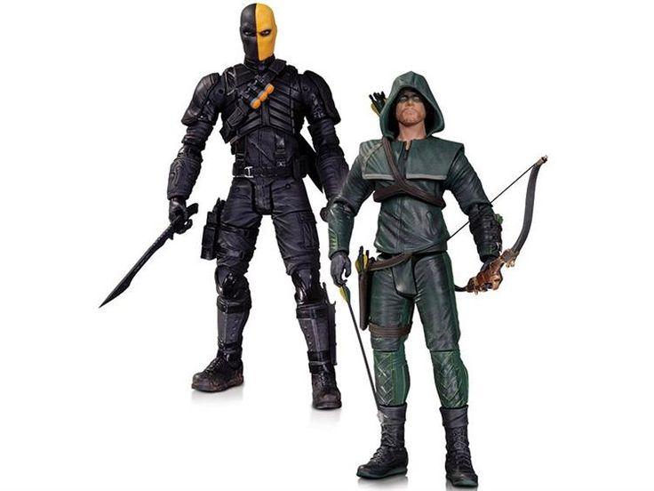 Arrow Figure Two-Pack - Oliver Queen & Deathstroke - Arrow Figures