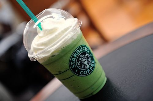 Mint Chocolate Chip Ice Cream, you have met your match.     Next time you stop into Starbucks, order a Grasshopper Frappuccino and you'll be blown away by this delectable taste-a-like treat!