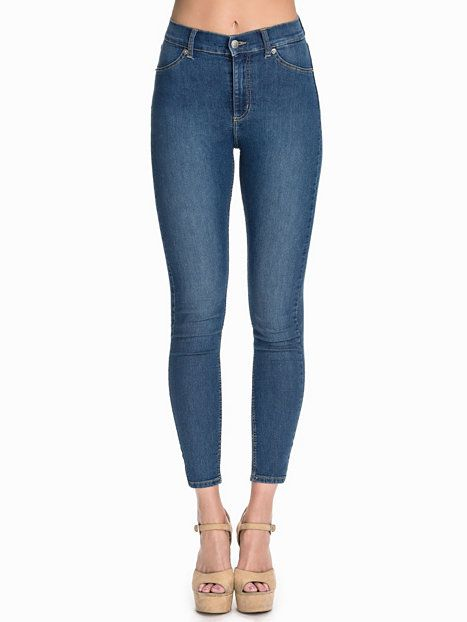 High Spray Mid Blue - Cheap Monday - Mid Blue - Jeans - Clothing - Women - Nelly.com