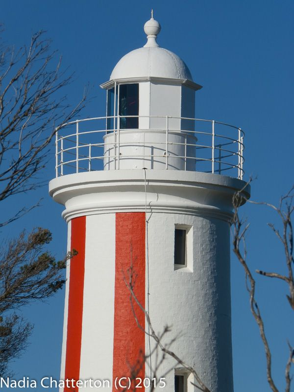 """""""Up top"""" Capturing the top half of the Light House on this beautiful Autumn afternoon. Panasonic Lumix DMC-FZ35 f/7.1 1/800 ISO-80 Photographed by Nadia Chatterton (C)"""
