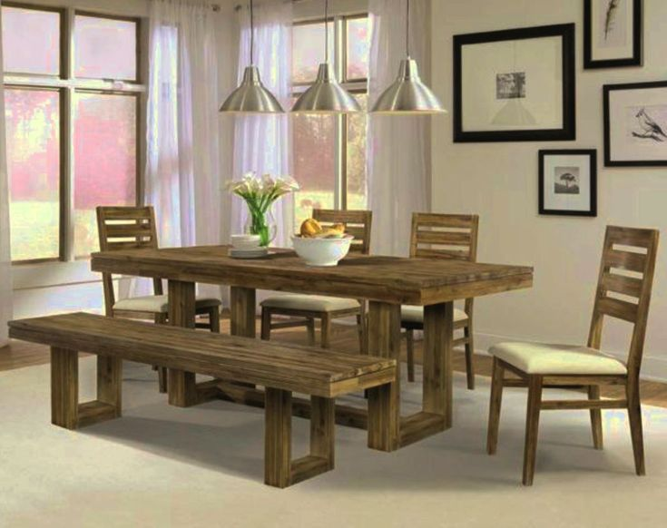 Best 25 Modern Rustic Dining Table Ideas On Pinterest  Brick Adorable Nice Dining Room Tables Design Ideas