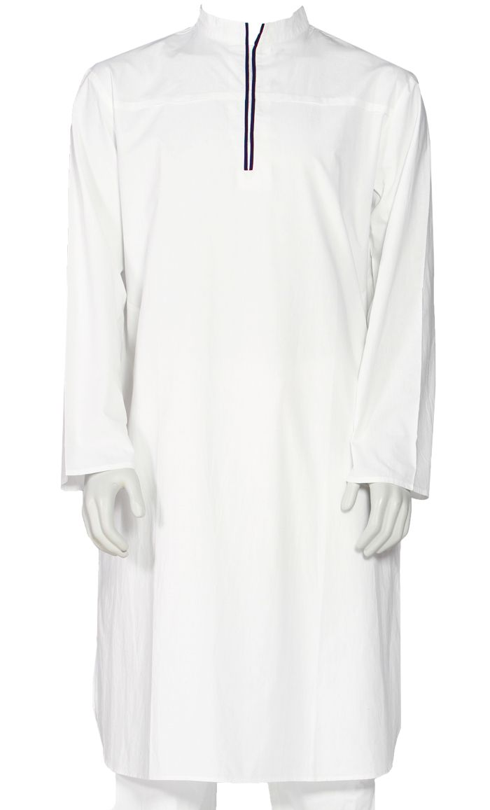 Another simple and classy Kurta for our Men's line. Classic enough for work and leisure! Fabric: 100% Cotton Poplin