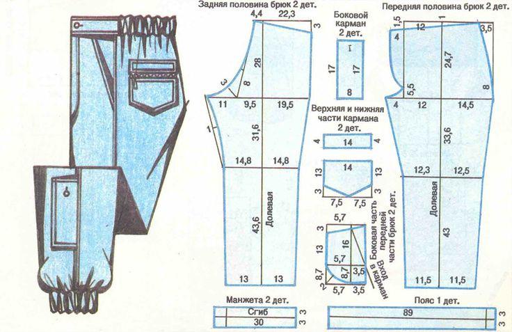 pantalones de hombre.