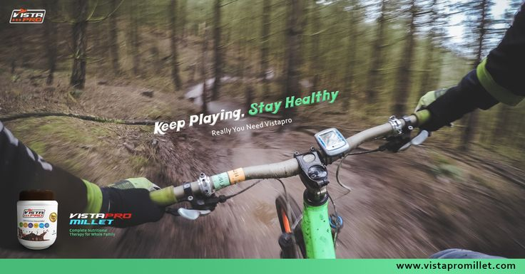 "Feel energetic when you wake up in the morning by using Vistapro because our motto for you is ""Keep Playing and Stay Healthy""."