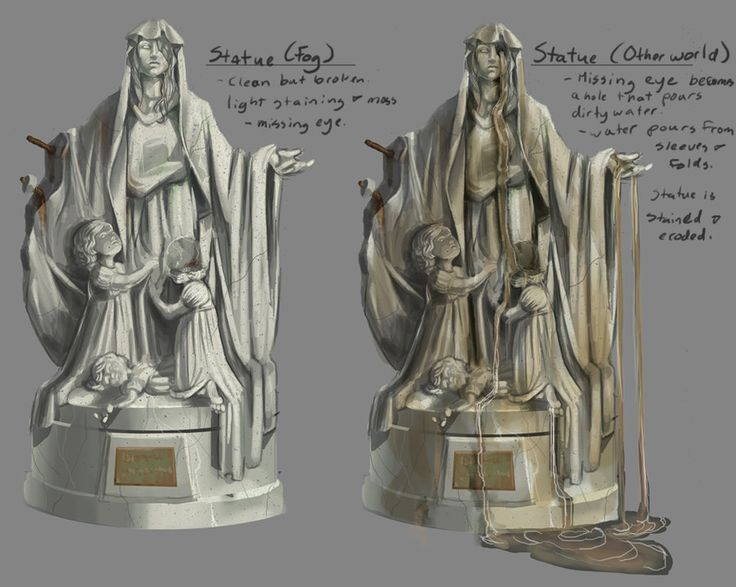 Burial Statue - Contest Entry, Silent Hill Downpour, Konami.