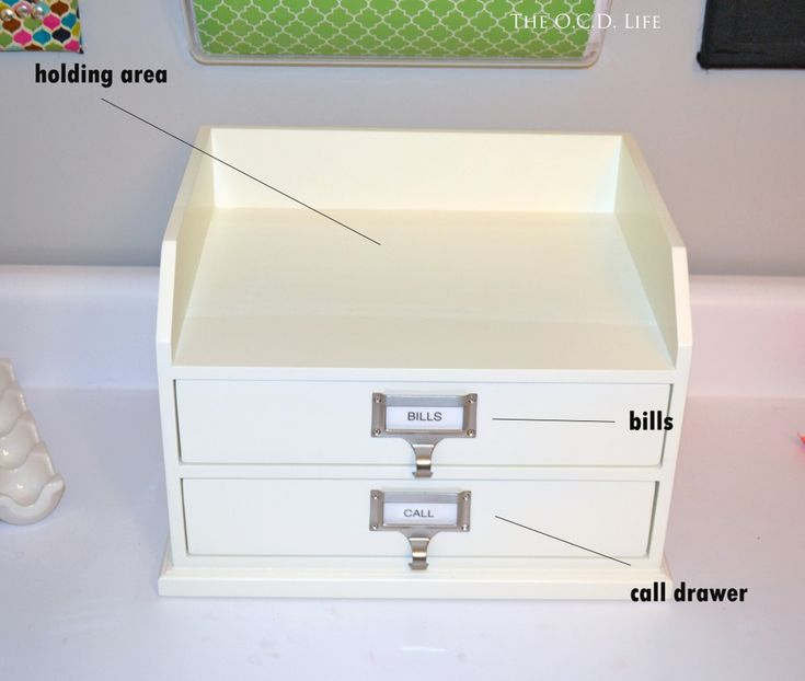 mail organization for receipts