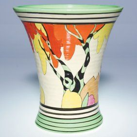 Clarice Cliff Honolulu Vase