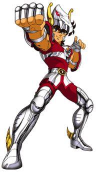 Seiya de Pégaso - Cavaleiro De Bronze. Seiya - Bronze Knight.