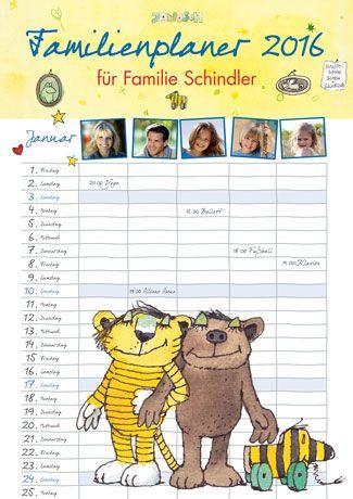 Ideal Janosch Familienplaner arsEdition