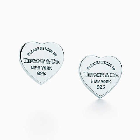Return to Tiffany® mini heart tag earrings in sterling silver. I'm buying these as a gift to myself =)