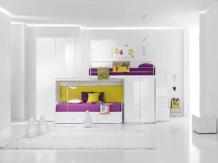 dizajn-detski-legla (5)Awesome Room, Dreams Bedrooms, Decor Room, Kids Bedrooms, Bunk Beds, Kids Room, Kid Rooms, Purple Bedrooms, Bedrooms Room