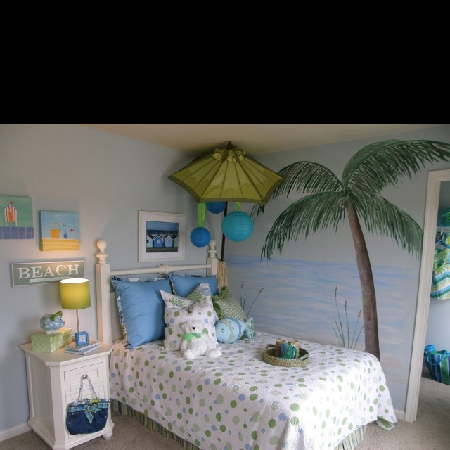 21 Best Beach Scene On Walls Images On Pinterest Bedroom