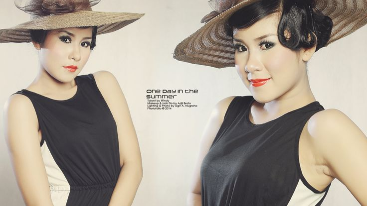 Indonesian Fashion Photographer.  Talent by Windy│MUA & Hair Do by Adji Broto│© 2014.