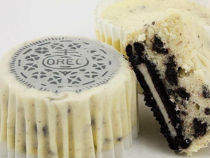 Cupcakes de galletas Oreo
