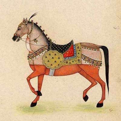 horse miniature painting - Bing Resimler