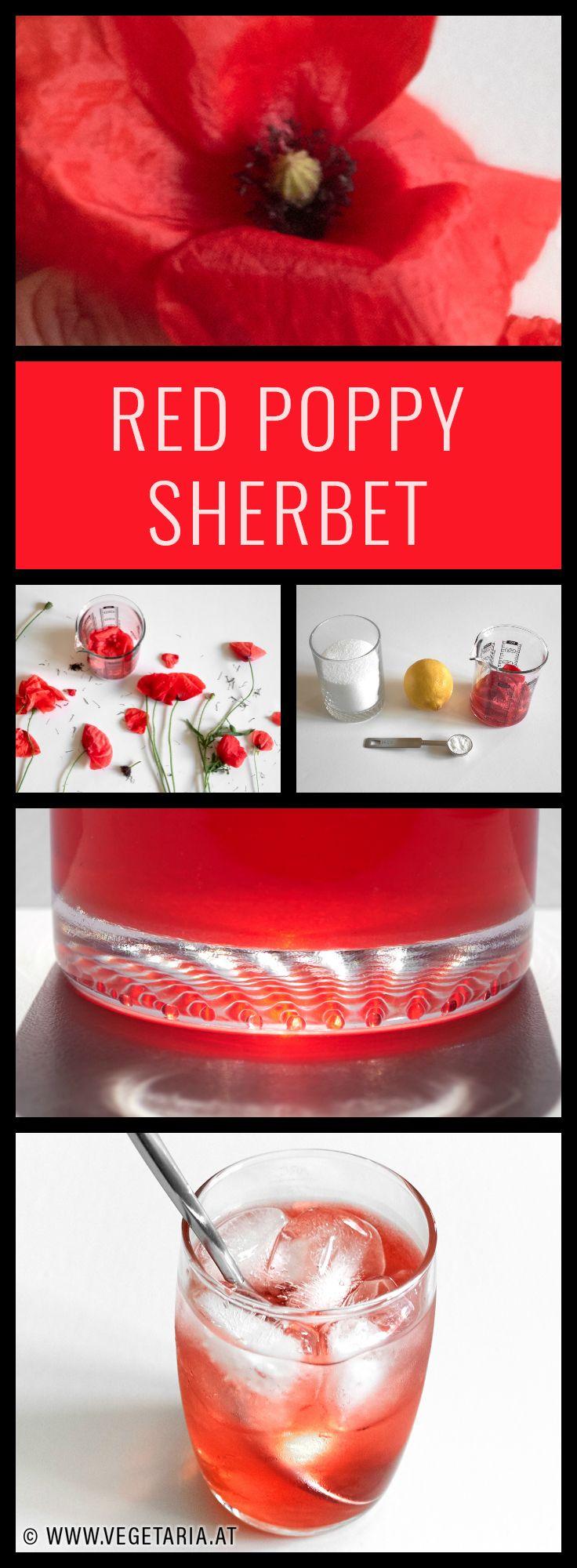 Summertime + red poppies = sherbet.
