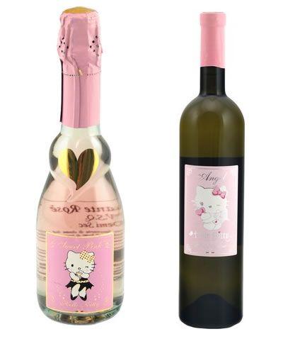 Hello Kitty Wine!!: Pop Bottle, Wine Signs, Kitty Champagne, White Wine, Bridal Shower, Wine Bottle, Kitty Wine, Hello Kitty, Liquor Bottle