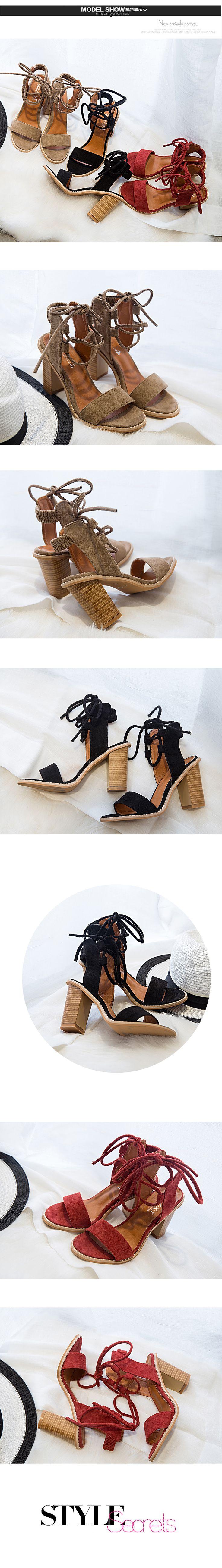 Летний комфорт 9см толстый с сандалии прилива была тонкой древесины с Большого Востока женской обуви с красной супер высоких каблуках Роман суб - Taobao