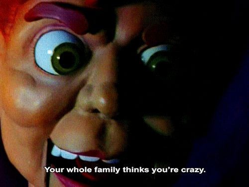 Ugh. The worst. Slappy the Dummy in Goosebumps. | 21 Things That Made '90s Kids Crap In Their Pants