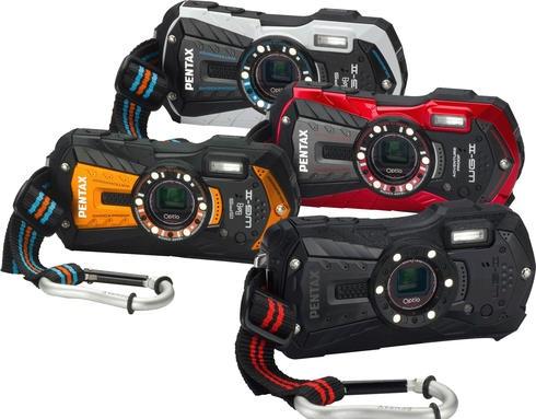 New Pentax Optio WG-2 Rugged Digital Camera - Pick your color!
