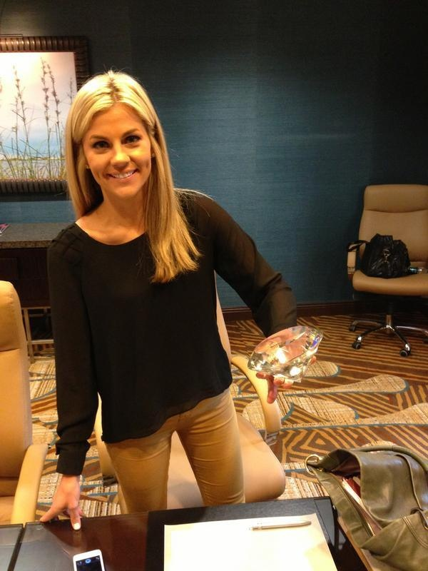 Christian Ponder's Wife, Sam Ponder, Mistaken for Tony Romo's Wife