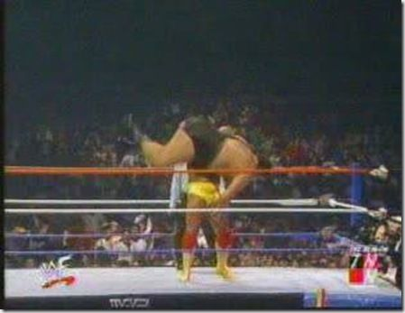 The bodyslam heard around the world! #wrestling #wwf #hulkhogan #andrethegiant