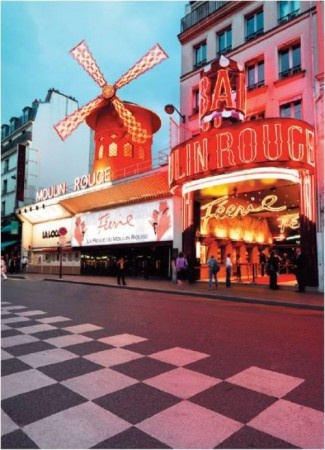 The Moulin Rouge, Paris - I didn't go out of my way to visit this, but the guided walking tour I was on passed by it and some other...interesting things on the way to Sacre Coeur in Montmartre. Only in Paris will you pass a cabaret and a selection of adult stores to get to a historical church....