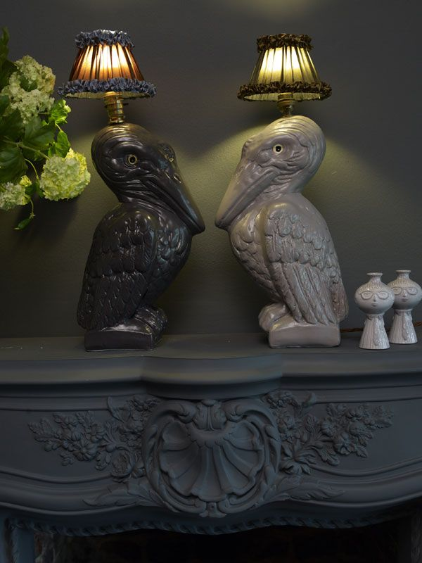 Animal Inspired Lamps Exude Glamor