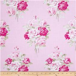 Tanya Whelan Slipper Roses Pink